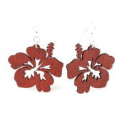 Greene Tree Jewelry - Hibiscus Earrings