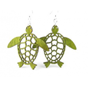 Green Tree Jewelry - Sea Turtle Earrings