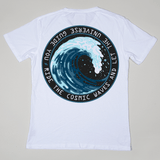 Clean {aesthetic} - Cosmic Waves Tee
