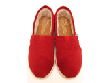 TOMS - Youth Red Corduroy Classics