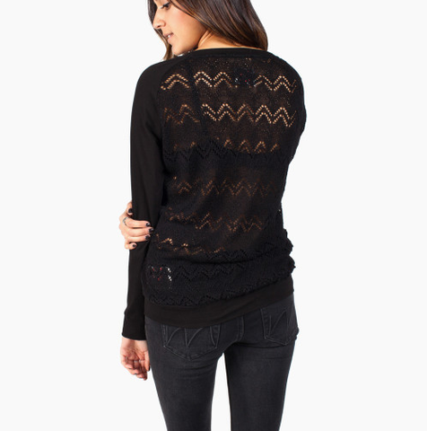 Krochet Kids - Knit Lace LS