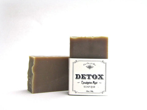 Cee Cee & Bee - Detox Soap Bar