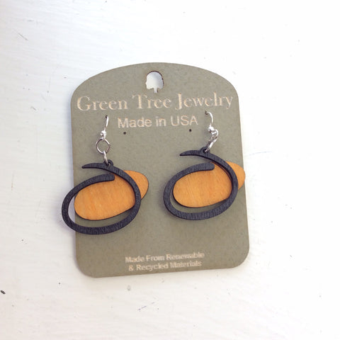 Green Tree Jewelry - Odina Logo Earrings