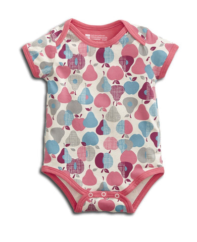 Pact - Baby Short Sleeve Snapper