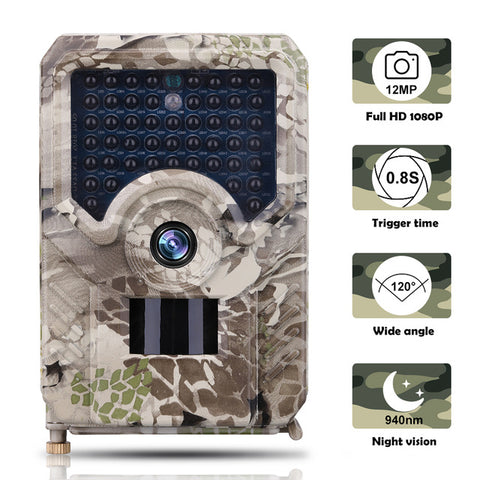 Waterproof Hunting Camera Night Vision Outdoor IP56 Cameras 1080P 12MP Photo 940NM Wildlife Photo Traps Scouts Camcorder