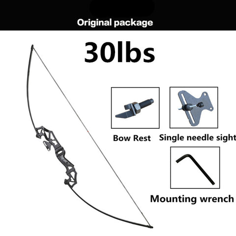 Image of NEW Professional Recurve Bow 30-50 lbs Powerful Hunting Archery Bow Arrow Outdoor Hunting Shooting Outdoor sports