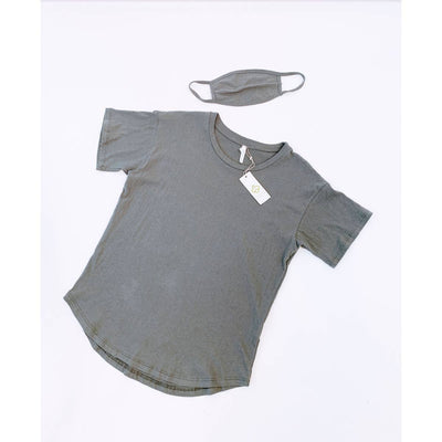 COTTON TOP WITH MASK SET