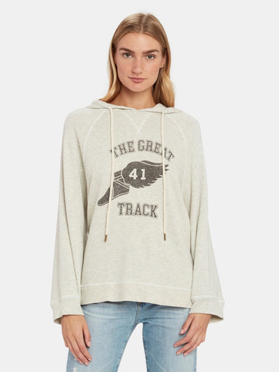 Slouch Hoodie W/ Track Graphic