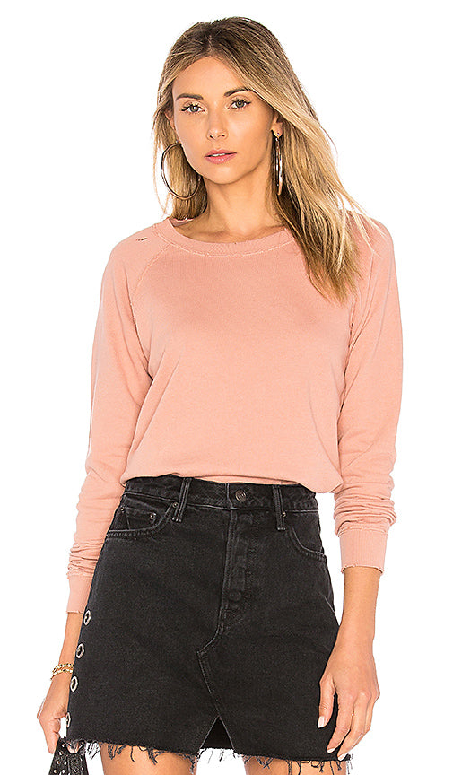 Raglan Sweatshirt Rose