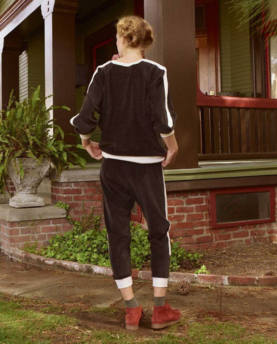 Side Stripe Bubble Sweatpants