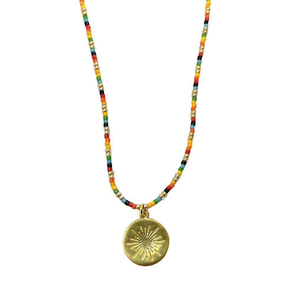 Tanzania Multi Color Necklace