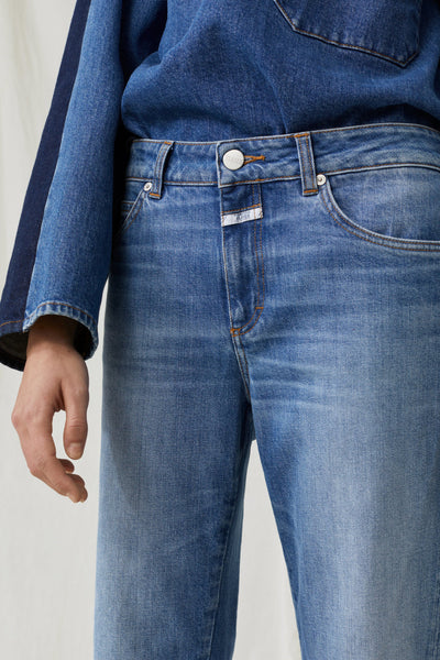 Jay Relaxed Fit Mid Rise Jean