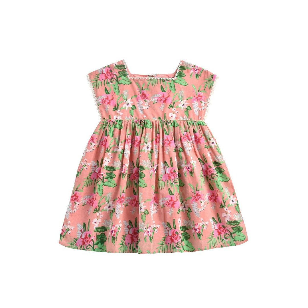 Sienna Flamingo Dress - Child