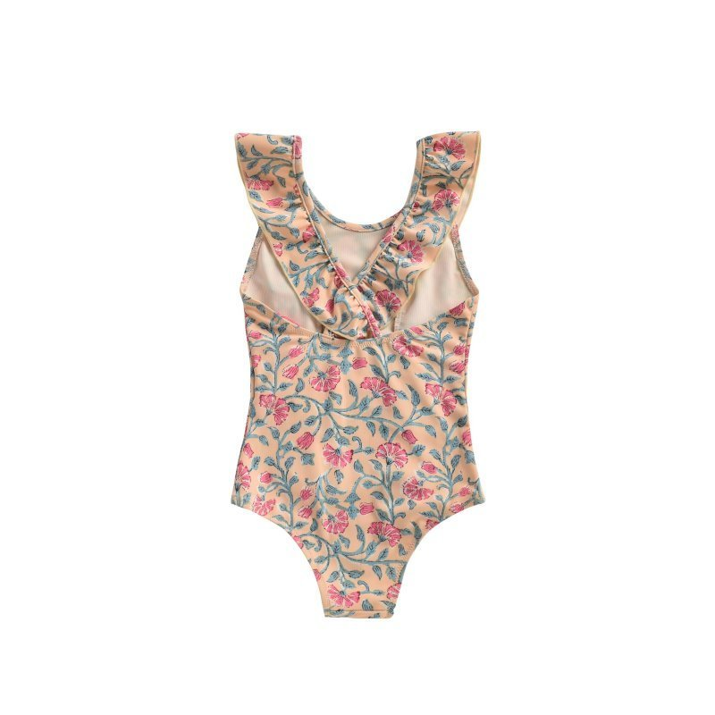 Lemon Flowers Bathing Suit - Child