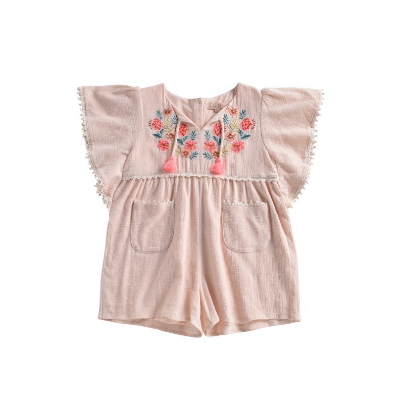 Mayalia Blush Jumpsuit - Child