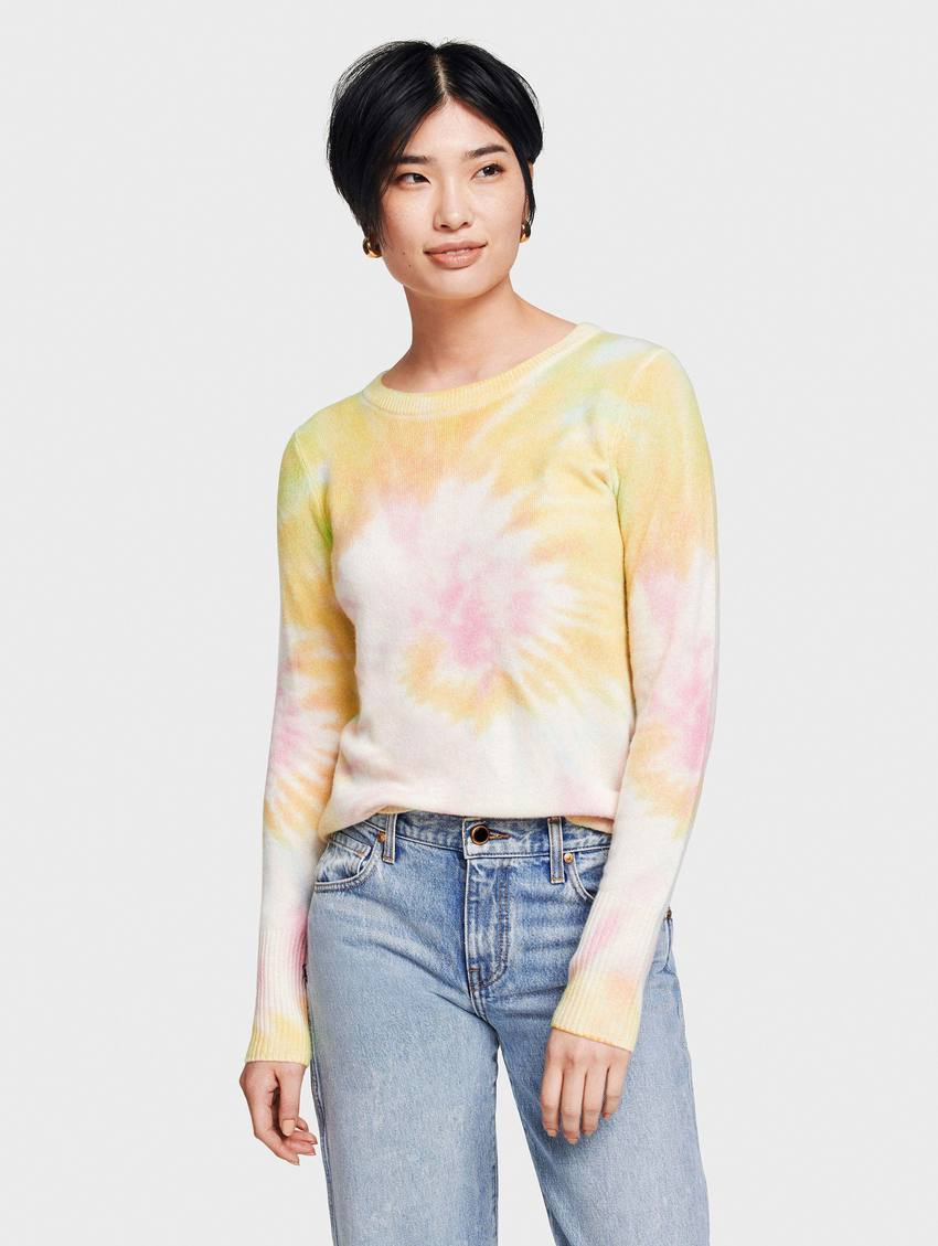 Tie Dye Essential Crew Neck
