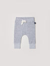Grey Pocket Drop Crotch Pant