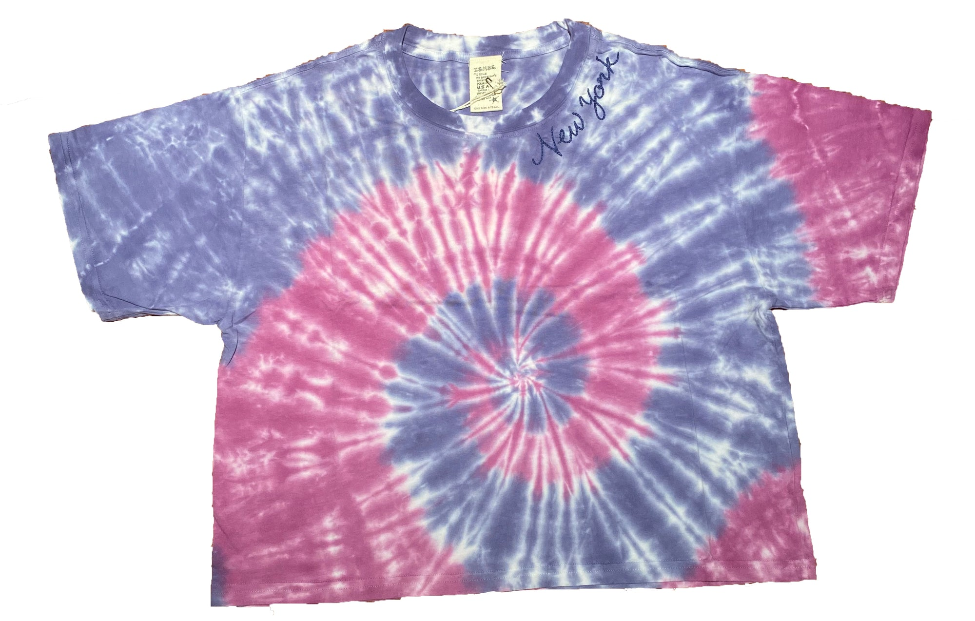 New York Purple Tie Dye T-Shirt