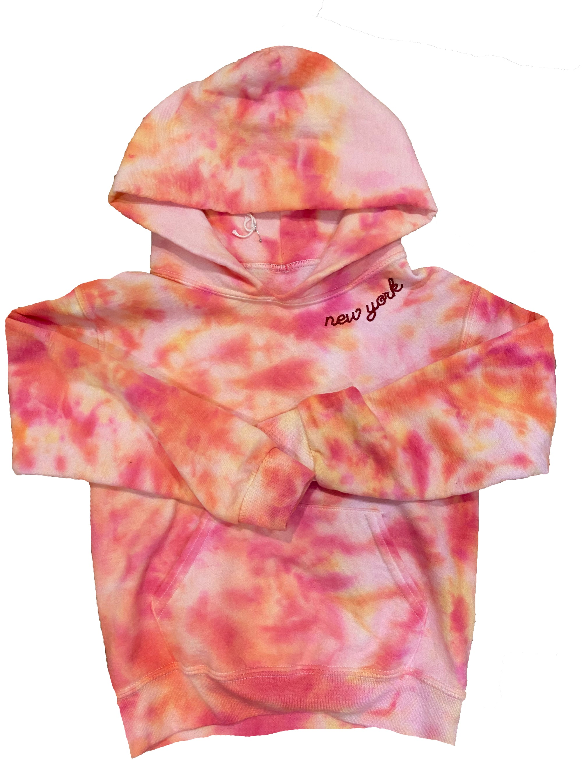 Kids Tie Dye New York Sweatshirt