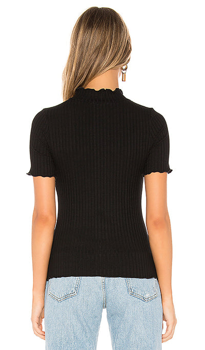 Camille Ribbed Top