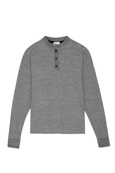 Thermal Henley Charcoal