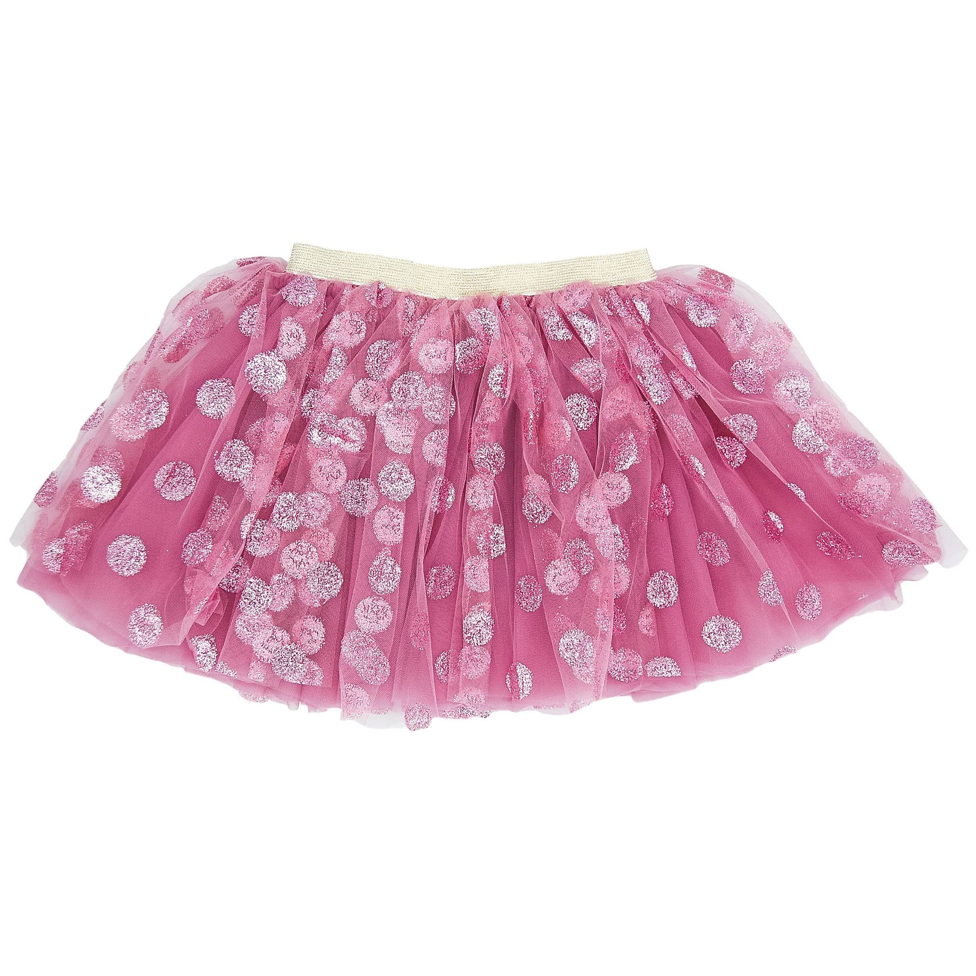 Polka Dot Tutu - Blush Pink