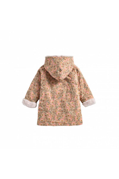 Bacani Jacket Khaki Flowers