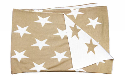 Beige Star Blanket