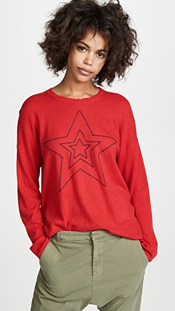 Star Outlines Sweater