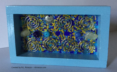 Bead Mosaic - Aquarius