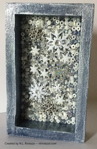 Bead Mosaic - Let It Snow