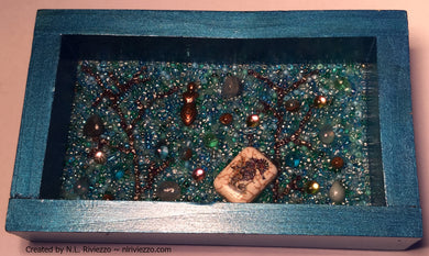 Bead Mosaic - Water Goddess