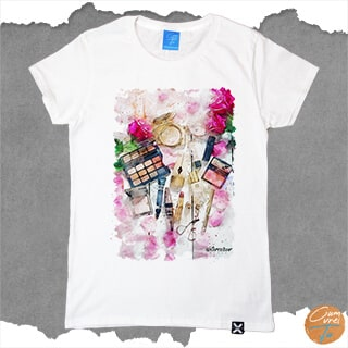 Addicted to Makeup - Tricou personalizat cum vrei tu stylish cut