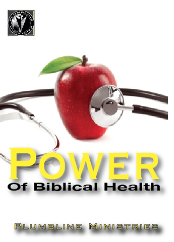 Power of Biblical Health