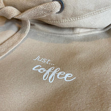 Load image into Gallery viewer, Just... coffee - Ultimate Hoodie BISCUIT. Unisex