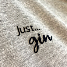 Load image into Gallery viewer, Just... gin - Women's T-Shirt with cool capped sleeves in GREY