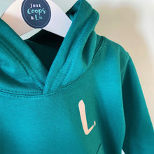 Load image into Gallery viewer, Kids - Jade Hoodie with personalised initial