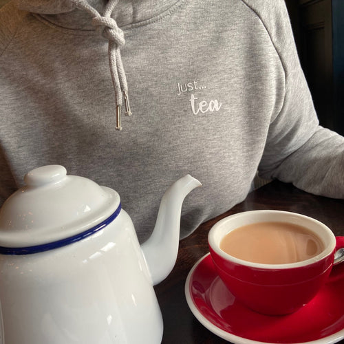 Women's - Just... tea - Organic hoodie - Various colours