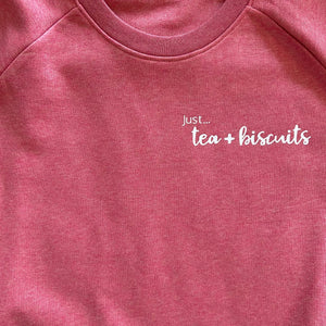 Just... tea & biscuits! - Women's organic sweater - various colours
