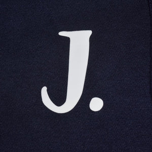 Kids - Navy Hoodie with personalised initial