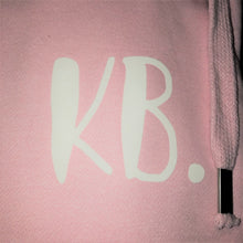 Load image into Gallery viewer, The ultimate BABY PINK hoodie with personalised initial. Unisex