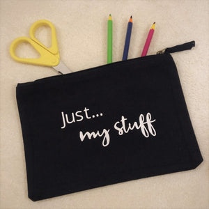 Just... my stuff - The perfect personalised pouch