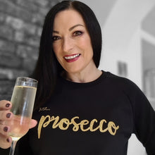 Load image into Gallery viewer, Just... prosecco - Women's organic sweater