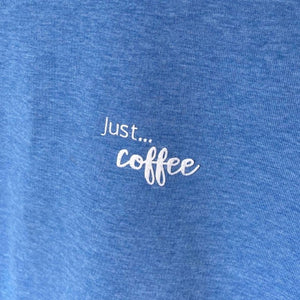 Mens - Just... coffee - Organic T-Shirt Colours