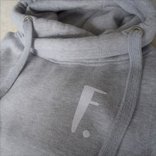 Load image into Gallery viewer, The ultimate GREY hoodie with personalised initial. Unisex