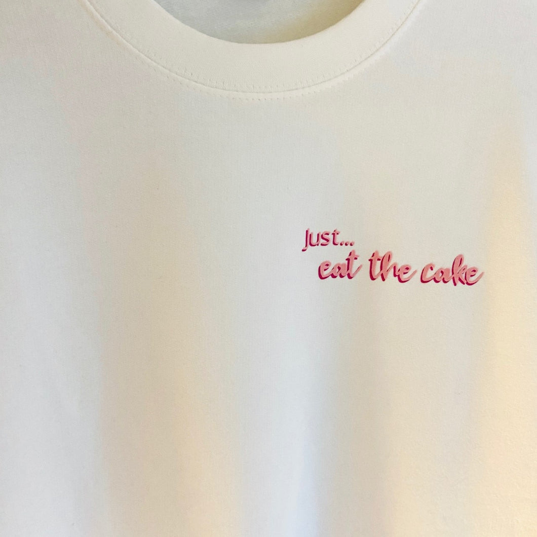 Womens - Just... eat the cake sweater