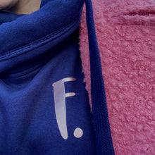 Load image into Gallery viewer, The ultimate NAVY hoodie with personalised initial. Unisex
