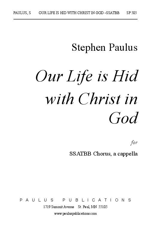 Christ our life music