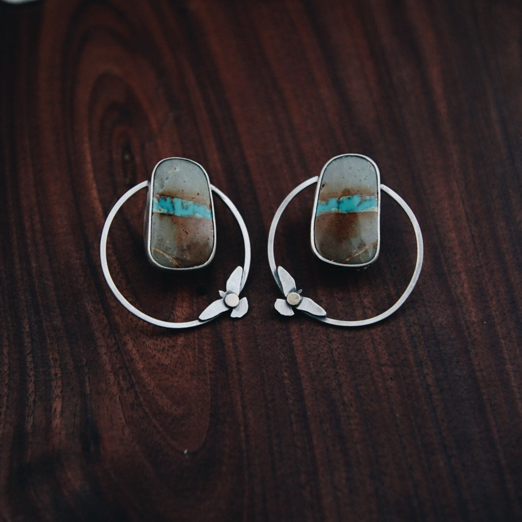 River Below Earrings