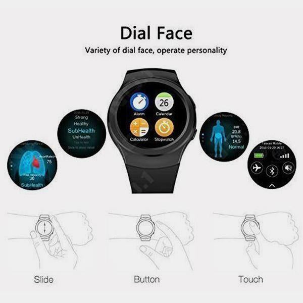 BEST WATERPROOF ANDROID SMART WATCH - 1 Year Warranty